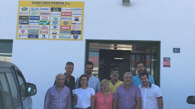 Juan Cruz Perera celebra 45 años en el mercado