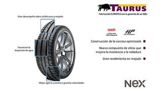 Nex reposiciona los precios de sus neumáticos