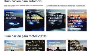 Osram estrena página web en España