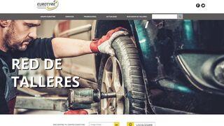 Eurotyre presenta su nueva web en España