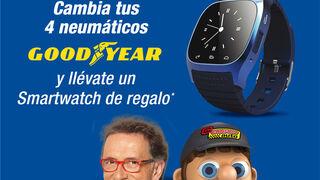 Confortauto regala smartwatches con Goodyear