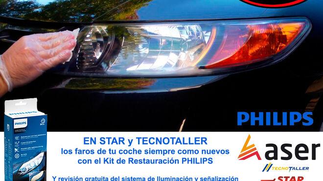 Las redes Star y Tecnotaller revisan gratis el sistema de iluminación de los coches