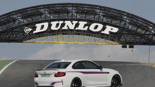 El Jarama inaugura el primer puente Dunlop en España