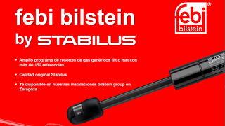 Amplia gama de resortes de gas Stabilus, de febi bilstein