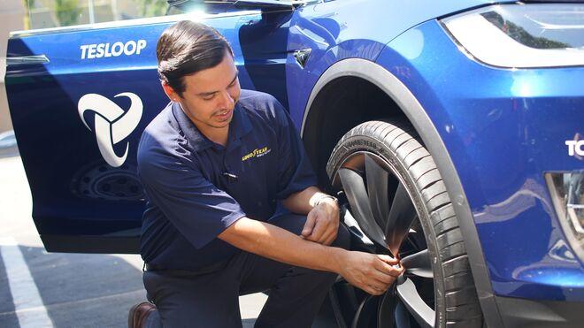 El neumático inteligente que avisa de su estado, de Goodyear