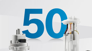Bosch celebra los 50 años de su primera bomba de inyección