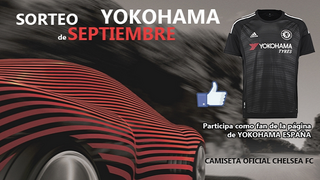 Yokohama sortea una camiseta del Chelsea FC en Facebook