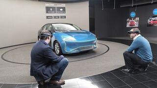 Ford trabaja en el diseño de sus coches con realidad aumentada