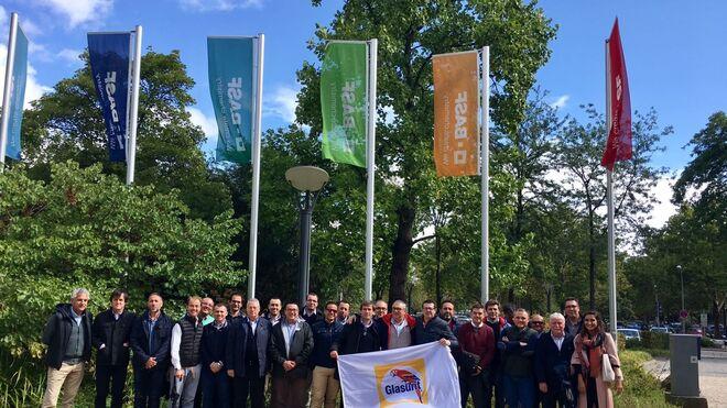 Glasurit lleva a clientes a conocer la sede de Basf en Alemania