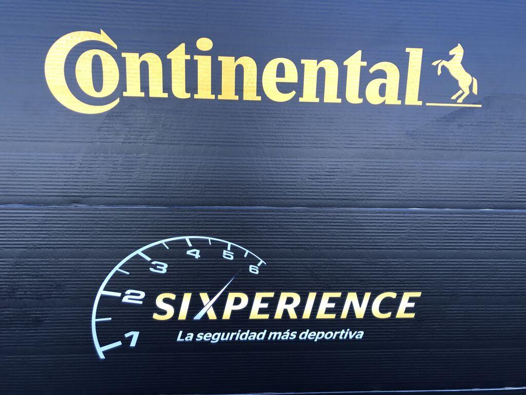 Continental y su Sixperience (en referencia a su serie 6 de neumáticos)
