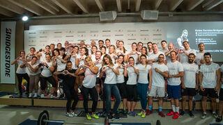 Bridgestone y Lidia Valentín participan en el evento solidario 'Kilos de Sueños'