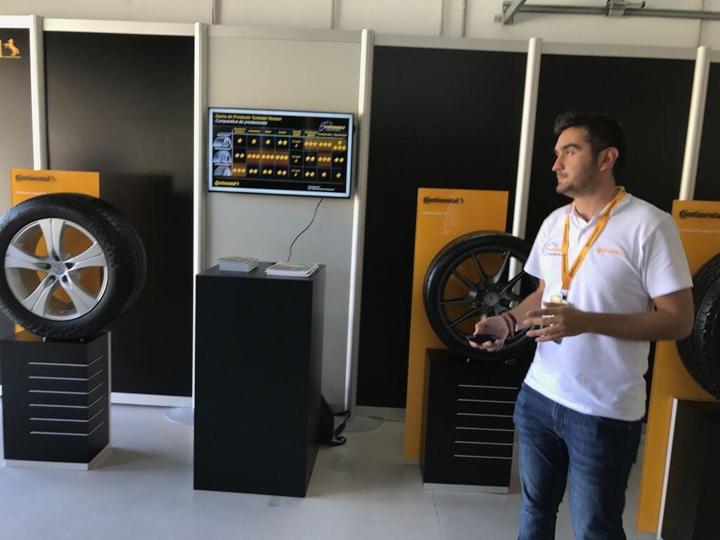 Juan Jesús Martín-Zamorano, jefe de Producto y Business Intelligence Neumáticos Turismo Reposición en Continental Tires España