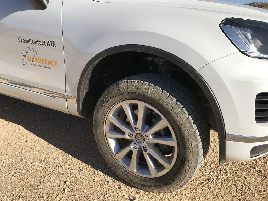 CrossContact ATR, neumáticos de carretera con mucho juego off road
