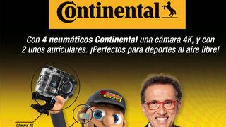 Regalos en Confortauto al comprar neumáticos Continental