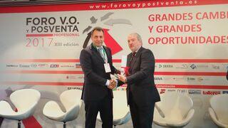 Benito Tesier, Premio Personalidad Relevante del Sector del Foro VO y Posventa