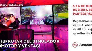 Automotor y Ventas premia a los mejores con su simulador de conducción