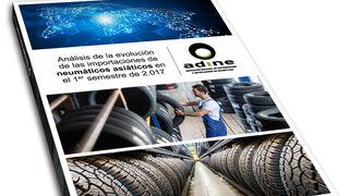 La importación del neumático asiático crece cerca del 15% en enero-junio