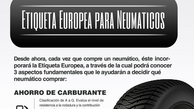 Conepa recuerda a los talleres su obligación informativa al vender neumáticos