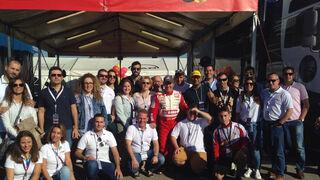 Bosch asiste al GP Camión de España con sus clientes de V.I.