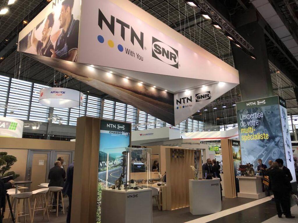 Stand de NTN SNR en el pabellón 1