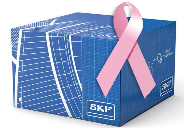 SKF se suma al Día Mundial contra el Cáncer de Mama