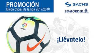 Grovisa regala el balón oficial de la Liga en su nueva promoción