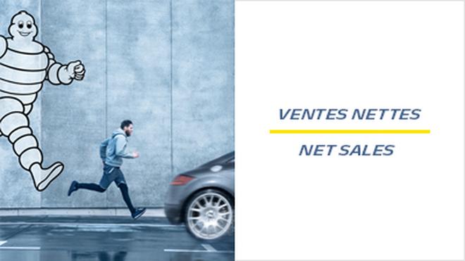 Las ventas netas de Michelin crecen el 6% hasta septiembre