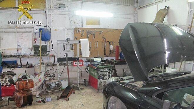 La Policía destapa 13 talleres ilegales en Huelva en los últimos dos meses