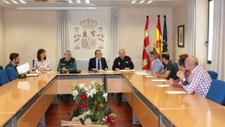 Adeabur se reúne con representantes del Gobierno en Burgos para tratar sobre los talleres ilegales