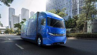 Daimler da a conocer su camión eléctrico con 350 km de autonomía