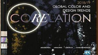 PPG publica las tendencias en color en 'Corelation, 2018/19'