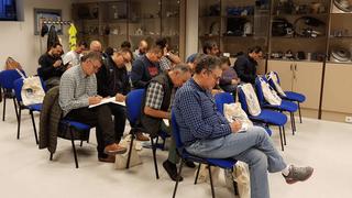 Ate y Aser forman a talleres sobre el sistema de freno