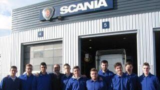 Scania ya tiene en plantilla a mecánicos de su primera promoción de FP Dual