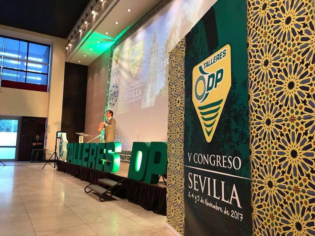 Sevilla fue la ciudad escogida para celebrar el V Congreso de la red de talleres