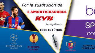 El fútbol por la tele, gratis con Aravi y KYB