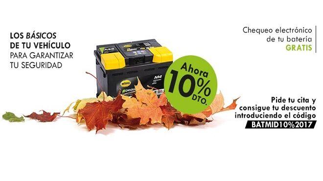 Midas realiza chequeos gratuitos a las baterías