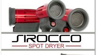 Zaphiro y Sirocco Spot Dryer de Hoyos revolucionan los tiempos de secado
