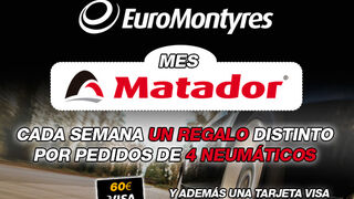 EuroMontyres lanza el 'Mes Matador' con regalos semanales
