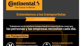 Continental Vehículos Comerciales crea infografías para entender a los transportistas
