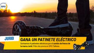SPG Talleres y Jurid premian el cambio de frenos