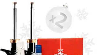 Grovisa regala cestas de Navidad con amortiguadores Sachs