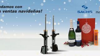 ZF Aftermarket regala un lote navideño con Sachs y Boge