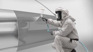 Cómo reparar colores con efecto metalizado líquido