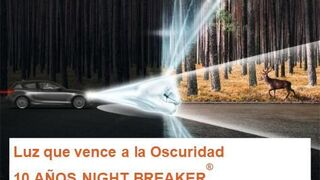 Las lámparas Night Breaker de Osram cumplen 10 años