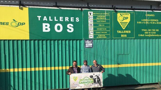 Entregados los premios de la campaña Rasca y Gana 2017 de Talleres DP
