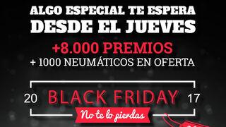 Neumáticos Andrés entregará más de 8.000 premios en su 'Black Friday'