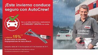La red de talleres AutoCrew comienza su 'Campaña de Invierno 2017'