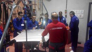 R-M Premium Partners forma a sus talleres en la reparación de nuevos materiales