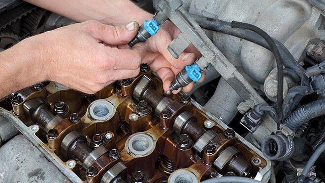 Cómo codificar inyectores en una VW Carfter de 5 cilindros