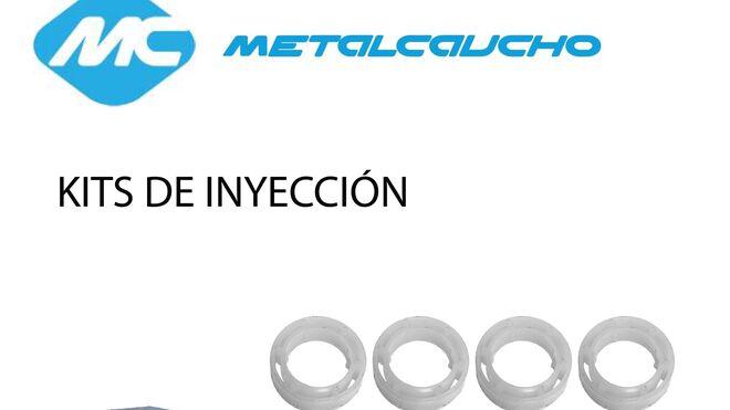 Metalcaucho presenta su nueva gama de kits de inyección